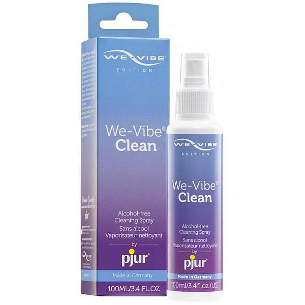 Pjur We-Vibe™ Clean Spray Toycleaner - 100 ml van het merk Pjur - Toycleaner - online kopen bij Masculum.nl. De discrete online seks-toys en erotisch heren ondergoed winkel voor gay & hetero mannen.